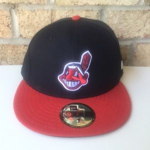 MLB 59Fifty New Era Cleveland Indians Hat